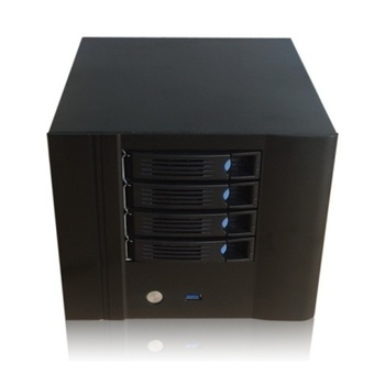 e-Netdata-N4 HDD NAS Storage Desktop case 4 Hot-swap Case with Flex 270W & 4 SATA