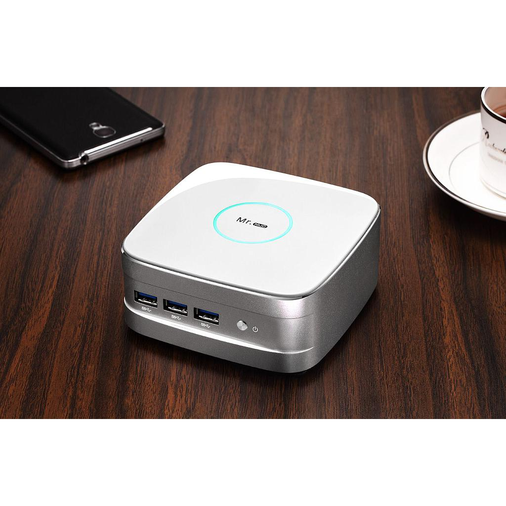Realan Mr. NUC BT-J1900L Mini PC (White)